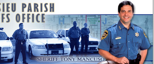 Calcasieu Sheriff Tony Mancuso