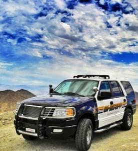 Riverside Sheriff's Department Patrol unit