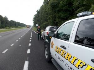 Nassau County Florida Sheriff Patrol unit