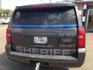 Hutchinson County Sheriff Patrol In God We Trust