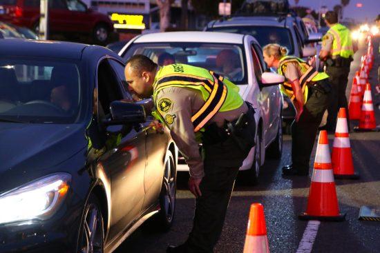 San Diego County Sheriff sobriety checkpoint