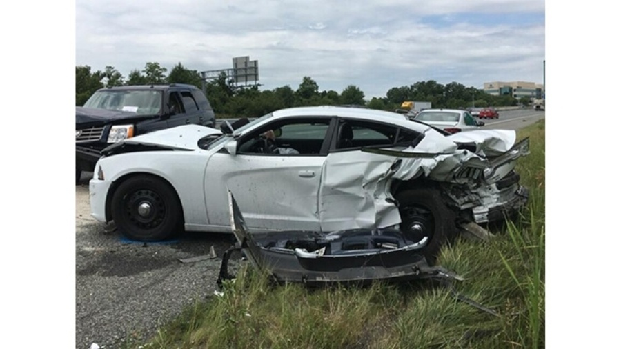 Maryland: Rodney Harris Jr  charged with DUI for crash into