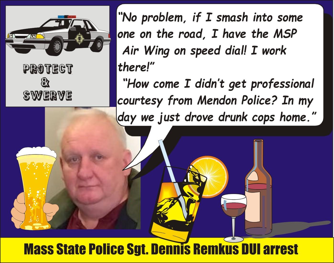 Massachusetts: State Police veteran Sgt  Dennis Remkus