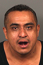 California: Indian Wells Police charged Nicacio Robles-Hernandez with DUI after he rammed his Mercedes into a street sign
