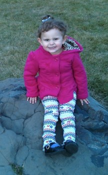 Our granddaughter, Emily