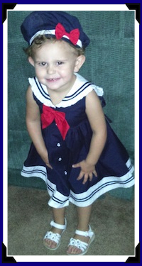 Our Granddaughter, Emily Grace