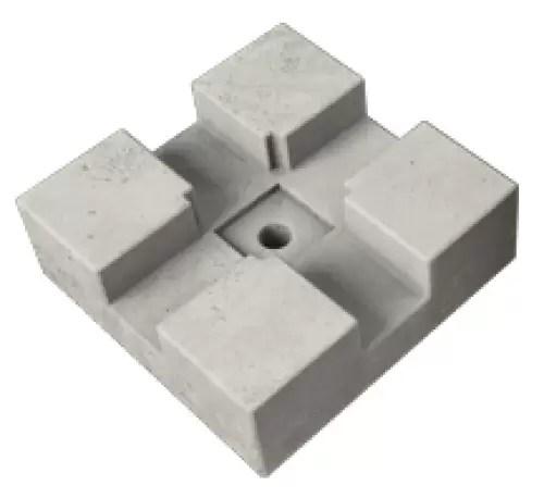 Dek Blok Concrete Decking Support Pad Composite Decking Dwnye