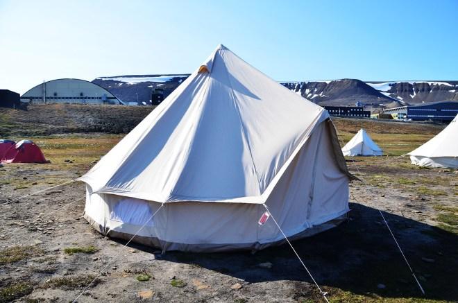 Pod namiotem w Arktyce
