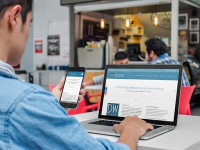Responsive Website Design Mock-up