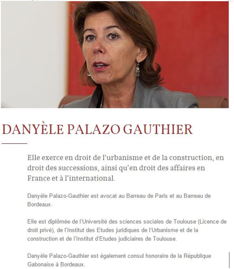 Avocate - Maitre Danyèle Palazo Gauthier