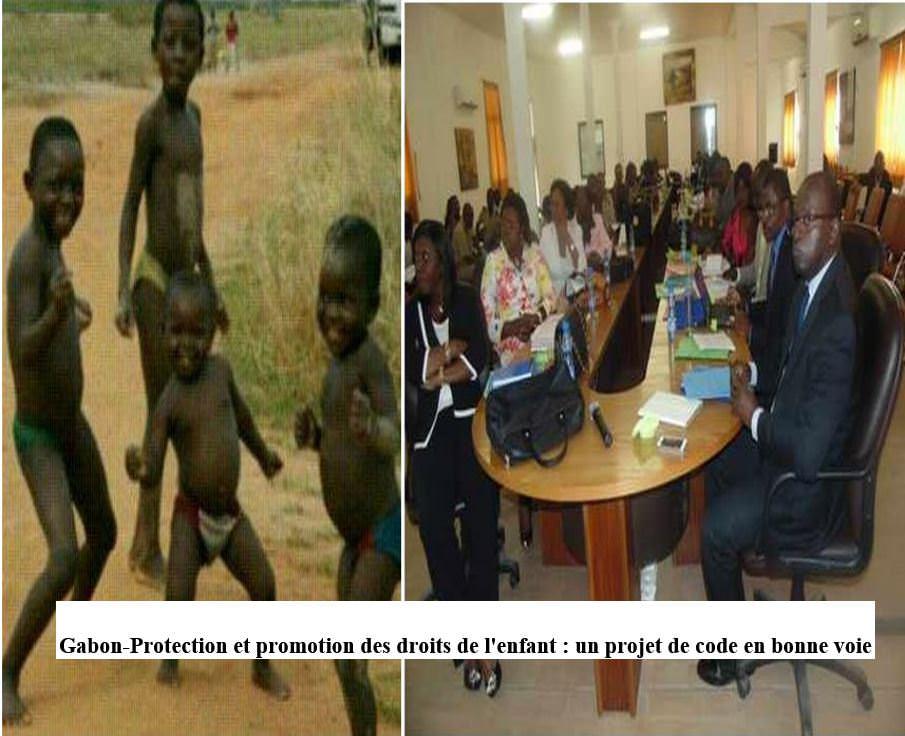 GABON-PROTECTION DE L-ENFANT-ATELIER