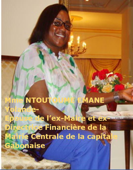 Madame NTOUTOUME EMANE Yolande-Epouse de l'ex-Maire de ca capitale Gabonaise-01