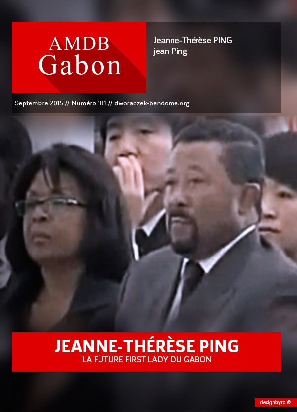 jeanne therese Ping-la future first lady du Gabon