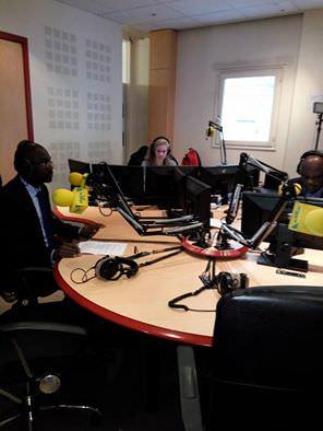 21 mars 2016-AFRICA N1-LE GRAND DEBAT- Francis LALOUPO-Pierre Claver Maganga Moussavou vs Cyrille Ona