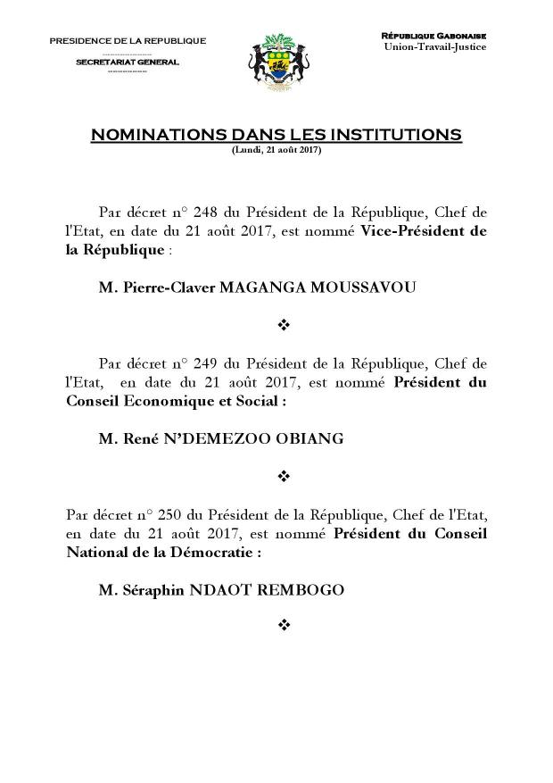 Nominations Institutions Gabon Août 17-page-001