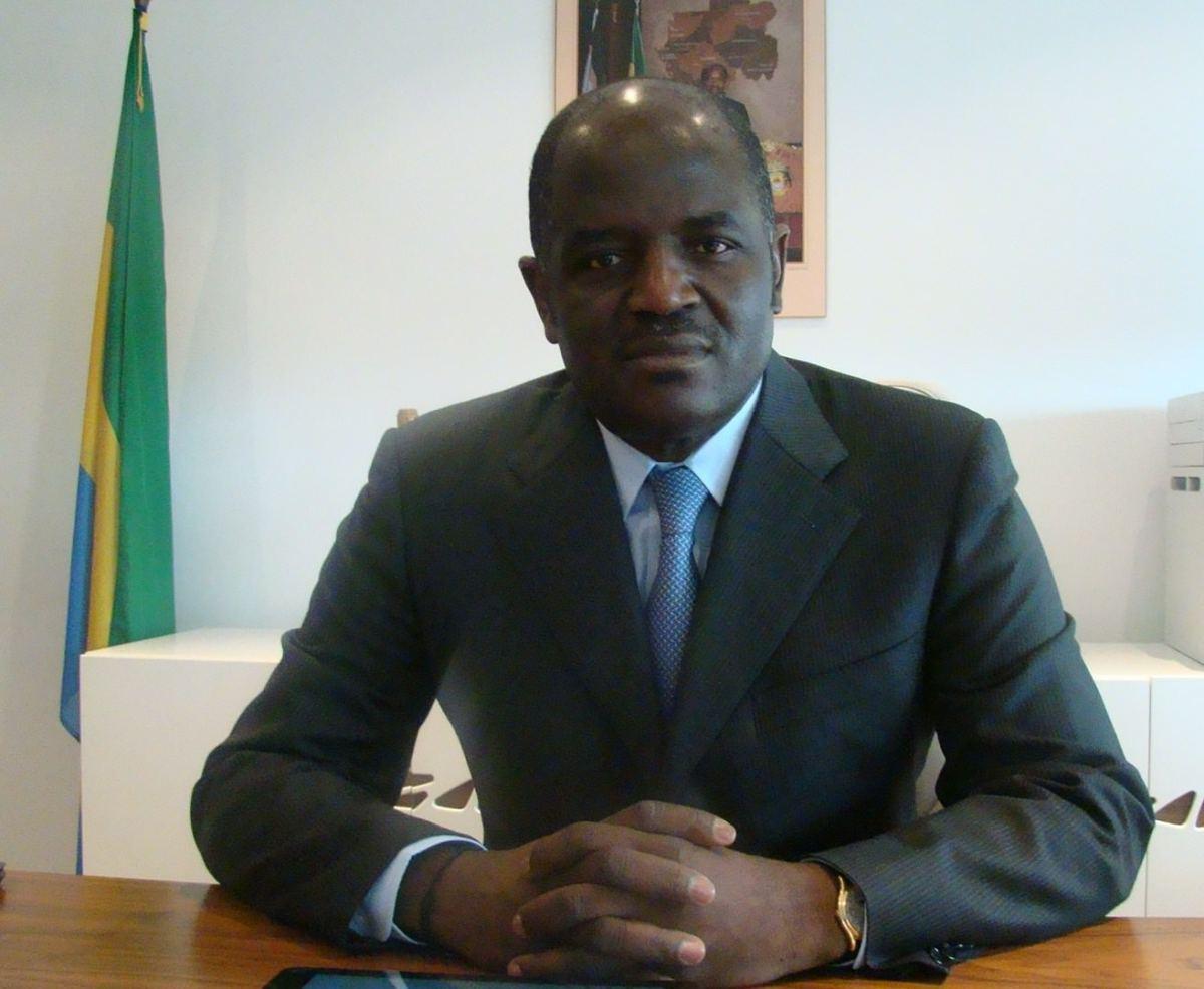 Regis Immongault, le ministre gabonais de l'Economie