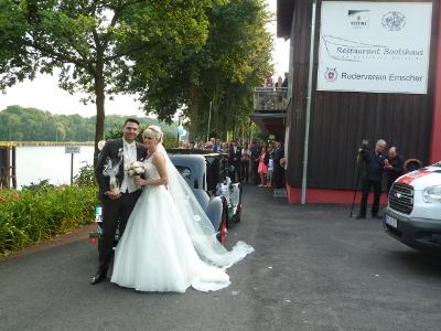 Hochzeit in Amlie Hochzeit im Citroen Oldtimer Amlie