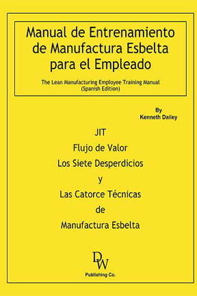 DW Publishing Lean Manufacturing Training Manual
