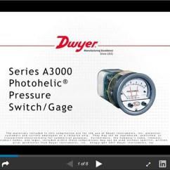 One Way Switch Wiring Diagram Uk Neck Throat Anatomy Series A3000 Photohelic Pressure Gage Functions As Slideshare