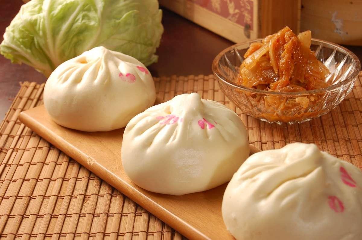 【鹿港必吃美食】泡菜鮮肉包,店小二肉包