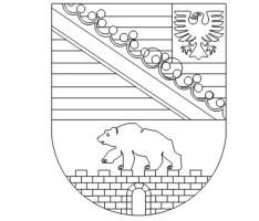 Wappen Von Sachsen Anhalt Zum Ausmalen   Kinder Ausmalbilder