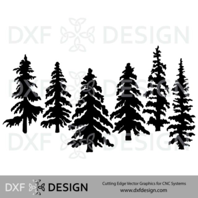 Nature DXF Files for CNC Plasma Cutting