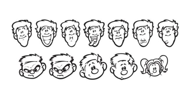 Download Free download cartoon expressions svg dxf files cricut ...