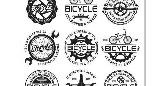 Bicycle service CDR Vector Logos – DXF DOWNLOADS