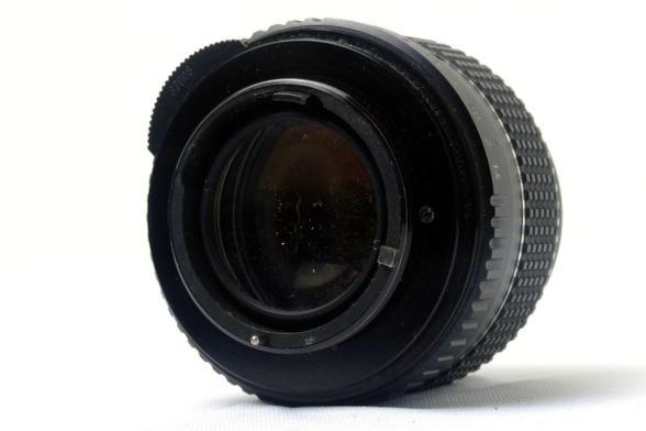 Pentax Spotmatic - Lente 50mm f/1.4 SMC Takumar - Verso