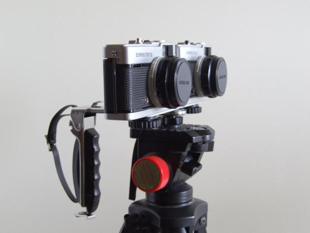 Fotografia Estéreo ou 3D com a Olympus Trip