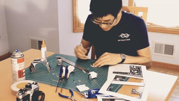Vídeo: montando uma Dirkon Pinhole de Papel com categoria
