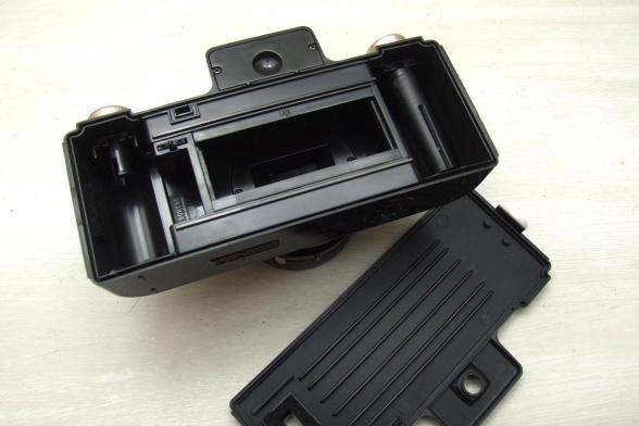 Sprocket Rocket - Fechamento do compartimento de filme