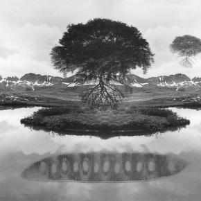 Montagens analógicas de Jerry Uelsmann, ou o photoshop é para os fracos