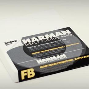 Harman Direct Positive Paper, papel positivo para fotografia pinhole