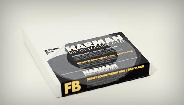 Harman Direct Positive Paper, papel positivo para fotografia pinhole - DXFoto