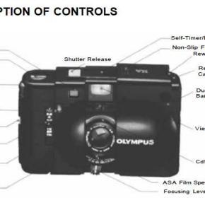 Olympus XA - Manual de Usuário