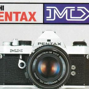 Pentax MX - Manual de usuário