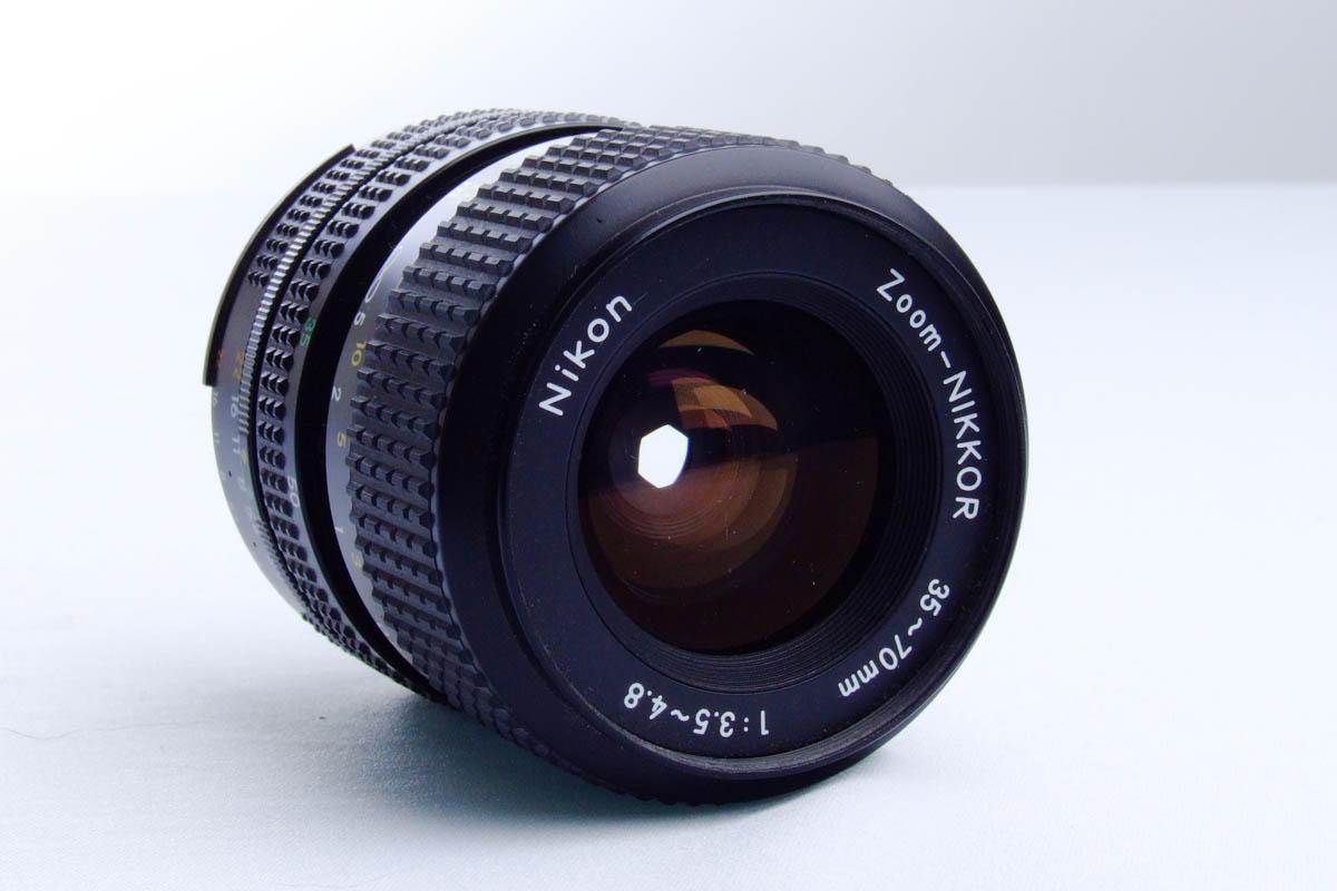 Nikon FM10 - Lente 35-70mm frente
