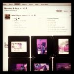 No #instagram, ouvindo Mumford&Sons e revendo velhos slides