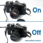 No #instagram, fica a dica pra economizar bateria na Pentax Spotmatic tampe a lente!