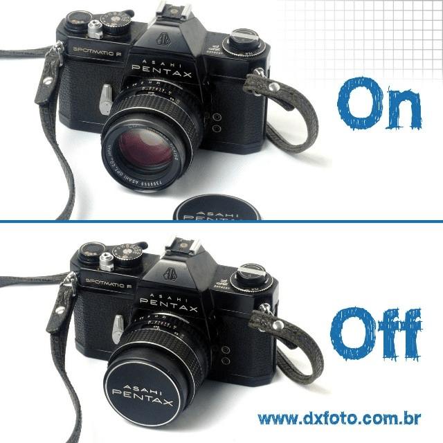 #instagram, fica a dica pra economizar bateria na Pentax Spotmatic tampe a lente!