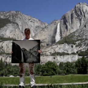 A maior câmera de colódio úmido do mundo fotografando o Parque Yosemite