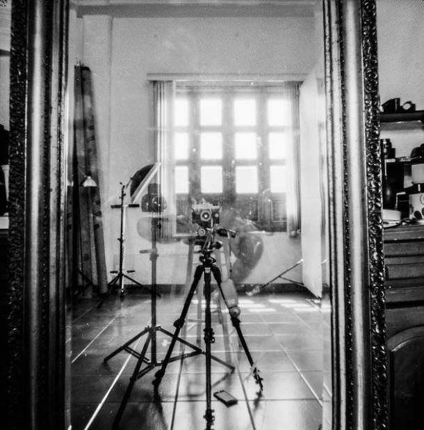 diana de papel - selfie