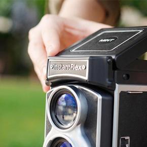 InstantFlex, uma twin lens reflex pra filme instantâneo