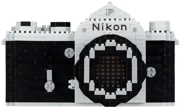 Nikon F em kit nanoblock para construir - DXFoto 06