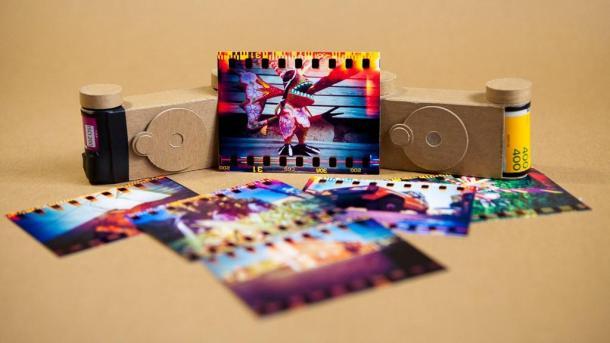 Pinhole 135 de papel fácil de montar e de graça - DXFoto - 01