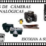 Câmera Velha #3 Tipos de Câmeras Analógicas