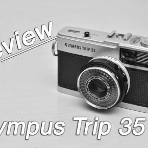 Câmera Velha # 4 Review Olympus Trip 35