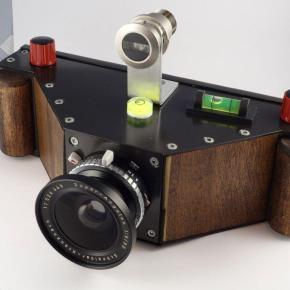 Câmera panorâmica 120 6x17, um grande projeto DIY