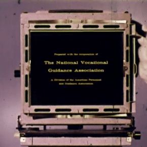 Cameras and Careers, filme de instrução antigo da Kodak
